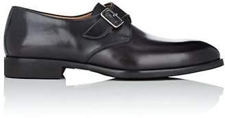 di Bianco Men's Leather Monk-Strap Shoes