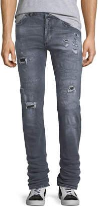 Marcelo Burlon County of Milan Gya Regular-Fit Distressed Jeans