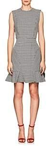 Barneys New York Women's Houndstooth Sheath Dress - Black