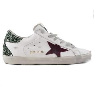 Golden Goose Glitter Heel Sneakers