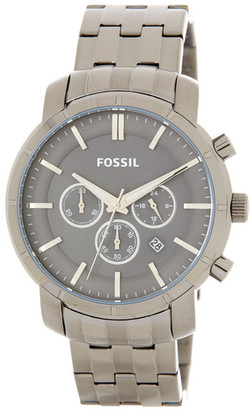 Fossil Men&s Logan Bracelet Watch $165 thestylecure.com