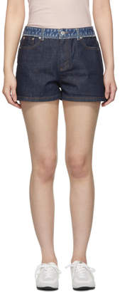 A.P.C. Indigo High Standard Shorts