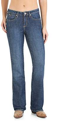Wrangler Women's Plus Size Aura Instantly Slimming Mid-Rise Jean