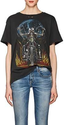 "R 13 Women's ""Boy"" Cotton Jersey Graphic T-Shirt"