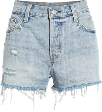 Levi's '501(R)' Cutoff Denim Shorts