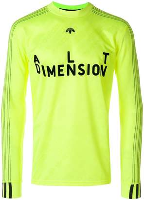 adidas By Alexander Wang Soccer long-sleeved top