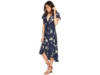 Free People Lost In You Midi Women's Dress