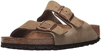 Birkenstock Men's BIRK-252901 Arizona Soft Footbed Jasper Suede