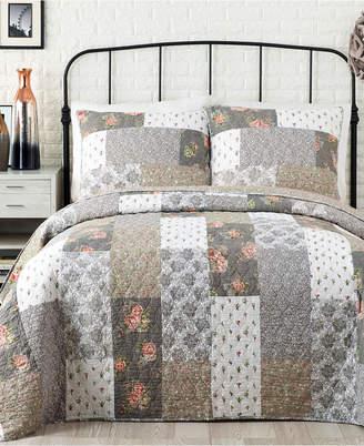 Jessica Simpson Floribunda Cotton Full/Queen Quilt