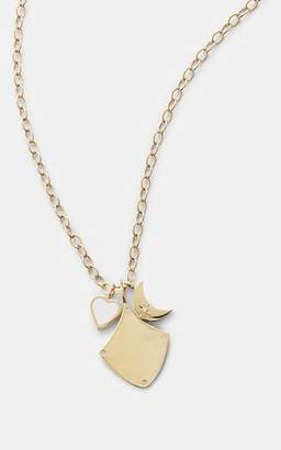 Feathered Soul Women's #MagicalPath Pendant Necklace - Gold