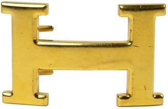 Hermes H Gold Metal Belts