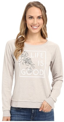 Life Is Good Bold French Terry Crew $52 thestylecure.com