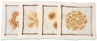 Jay Strongwater Floral Cocktail Napkins
