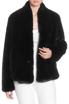 Catherine Malandrino Faux-Fur Jacket