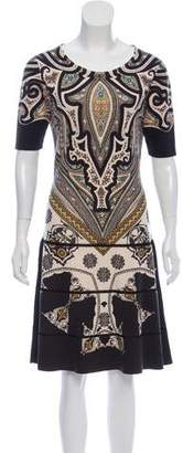 Etro Wool Knee-Length Dress