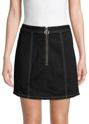 BB Dakota Mini Denim Pencil Skirt