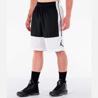 Nike Men's Air Jordan Rise Solid Basketball Shorts