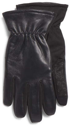 Leather Gloves With Touch Technology