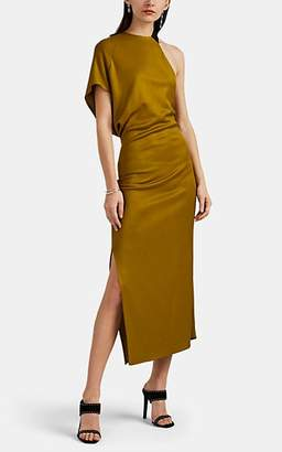 Narciso Rodriguez Women's Jersey Asymmetric Dress - Green