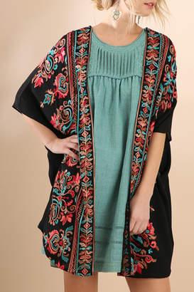 Umgee USA Detailed Darling kimono
