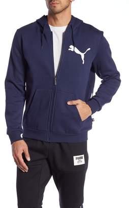Puma Big Logo Zip-Up Hoodie