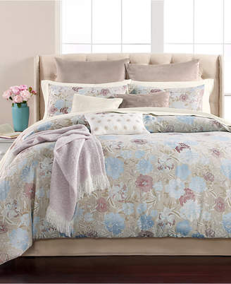 Martha Stewart Collection Faded Floral 220-Thread Count 14-Pc. California King Comforter Set