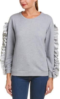 Alythea Ruffled Sweatshirt