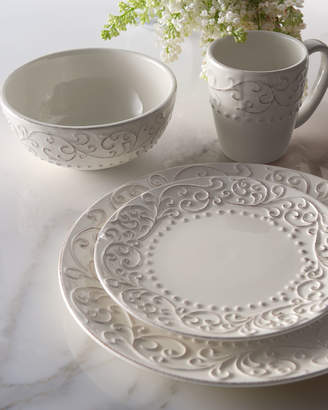 Horchow 16-Piece Scroll Dinnerware Service