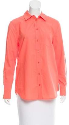 Equipment Long Sleeve Button Up Blouse