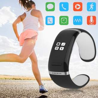 Fashionable BlingBling L12S b luetooth V3.0 Smart Watch Income Call Reminder h andsfree Sports Pedometer Smart Watch