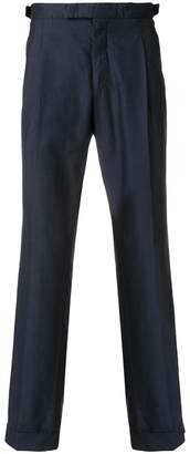 Lardini roll-up hem trousers