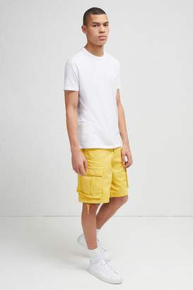 French Connenction Garment Dye Military Twill Shorts