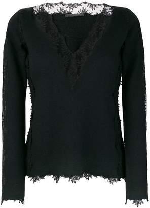 Ermanno Scervino lace layer blouse