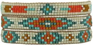 LeJu London Multicolor Set Of Three Bracelets