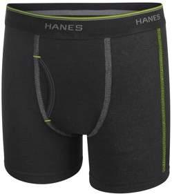 Hanes Boys Underwear, 7 Pack Tagless Boy's Boxer Briefs Assorted Colors, (Big Boys)
