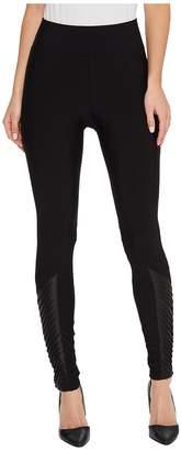 Plush Fleece-Lined Athletic Ankle Moto Leggings Women's Casual Pants
