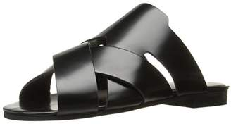 H By Hudson Women's Lonatu Hi Shine Flat Sandal