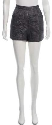 L'Agence High-Rise Mini Shorts