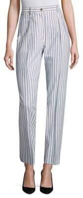 Jason Wu Striped High Waisted Pants