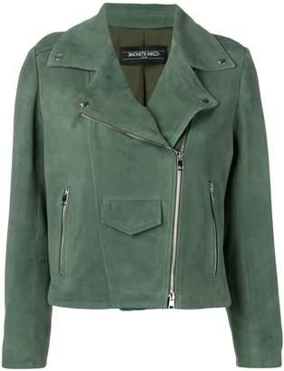 Simonetta Ravizza Papavero biker jacket
