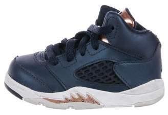 Nike Jordan Boys' 5 Retro Bronze Sneakers