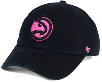 '47 Women's Atlanta Hawks Petal Pink Clean Up Cap
