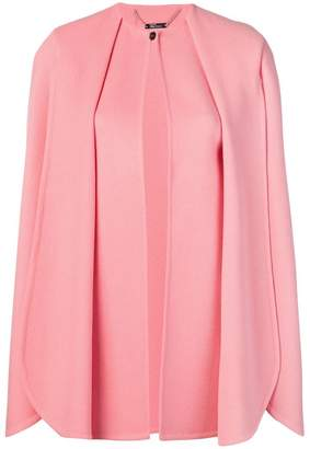 Alexander McQueen pleated cape