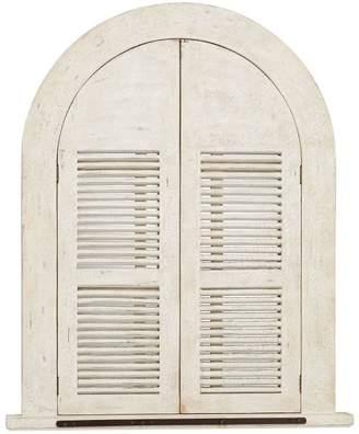 Pottery Barn Arched Door Mirror Wood Wall