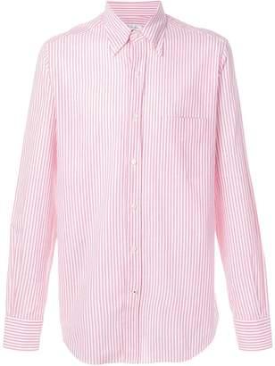 Loro Piana striped button-down shirt