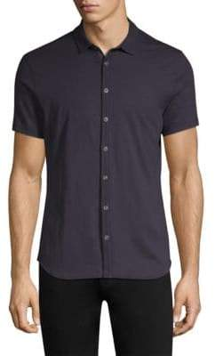 John Varvatos Pima Cotton Button-Down Shirt