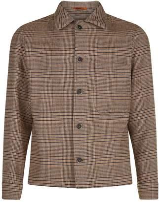 Barena Check Collared Jacket