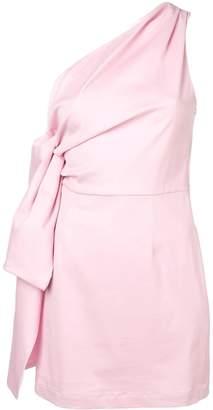 Brognano one-shoulder dress