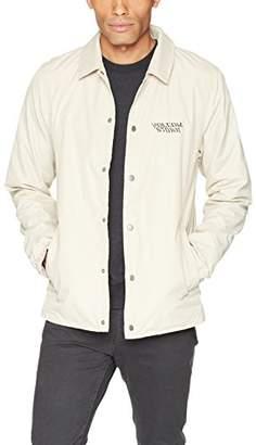 Volcom Men's Brews Coach Wind Breaker Jacket