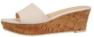 Nine West Women's Confetty Leather Platform Sandal
